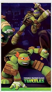 Teenage Mutant Ninja Turtles Plastic Tablecloth, 84