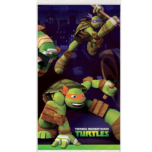 Teenage Mutant Ninja Turtles Plastic Tablecloth, 84