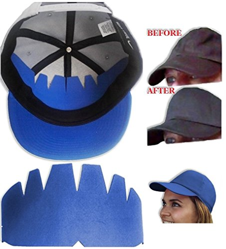 1Pk. Baseball Caps Insert| Hat Shaper Washing Aide| Long Lasting Liner| Ball Caps Form Shaper| Brim Hat Crown Stretcher| Hat Support| Hat Storage Aide 100% MBG, BUT WAIT! Buy 5 or more get FREE S&H.