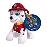 Nickelodeon, Paw Patrol - Plush Pup Pals- Marshall