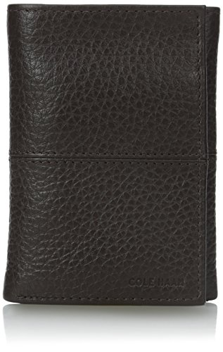 Haan Chocolate Cole (Cole Haan Men's Trifold, Chocolate, One Size)
