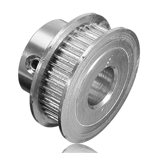 PhilMat GT2 Timing Drive Pulley 40Teeth Tooth Alumium Bore 10MM For Width 6MM Belt