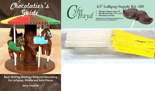 Cybrtrayd 45StK100EBk 100 4.5-Inch Easter Chocolatier's Loll