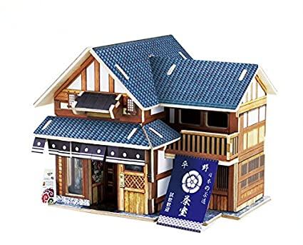 Amazon Com Coeus 3d Wooden Puzzle A Series Houses Of World Feel