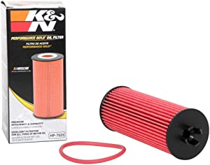 K&N Premium Oil Filter: Designed to Protect your Engine: Fits Select CHRYSLER/DODGE/JEEP/RAM Vehicle Models (See Product Description for Full List of Compatible Vehicles), HP-7025