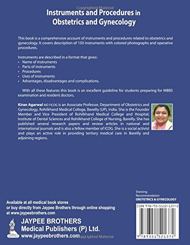 Buy Instruments And Procedures In Obstetrics And Gynecology