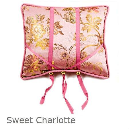 Amanda Crawford Designs BookBuddy Book Pillow Holder - Sweet Charlotte - 15