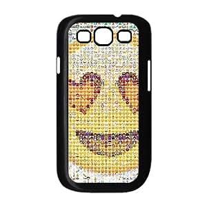 Hjqi - DIY Cute monkey emoticon Phone Case, Cute monkey emoticon Personalized Case for Samsung Galaxy S3 I9300