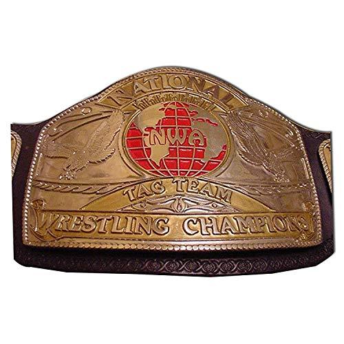 Haiosports NWA National Tag Team Replica Title Belt (Nwa Replica Belt)