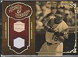 2005 Donruss Garret Anderson Angels Dual Game Used Bat/Jersey Baseball Card #TT-12
