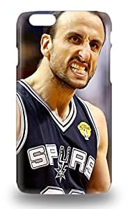 Carrie Diy 6 Snap On case cover Skin For Iphone 6 San Manu Ginobili XTapiMgUj7o #20 3D PC Soft case cover