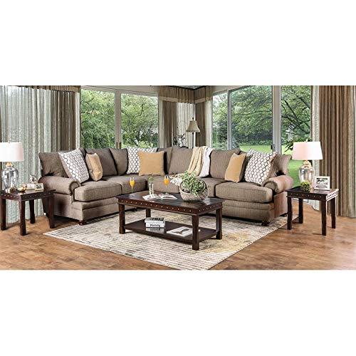 Amazon.com: Muebles de los Estados Unidos de Nisha esquina ...