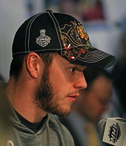 f88ce8858353d Image Unavailable. Image not available for. Color  Chicago Blackhawks 2013  NHL Draft Flex Stanley Cup Finals Hat ...