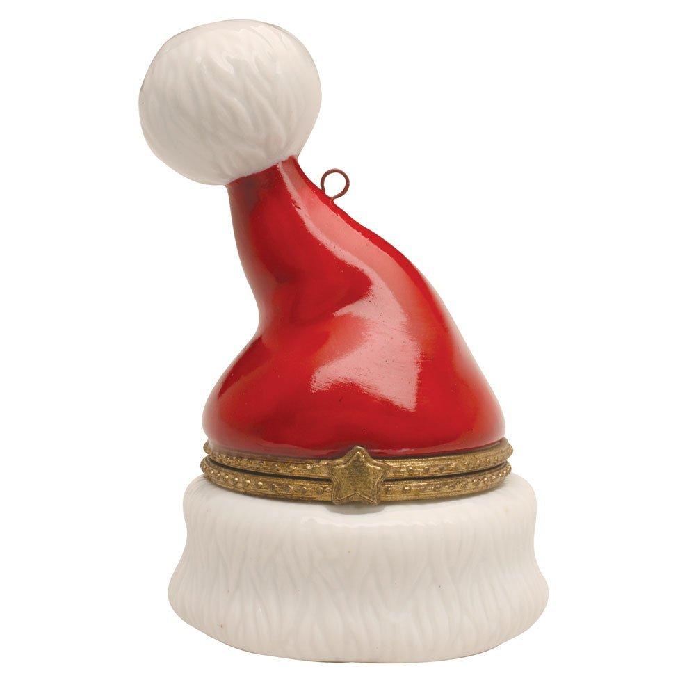 Santa Claus Hat Trinket Box