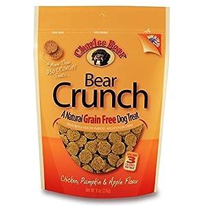 Charlee Bear Grain-Free Bear Crunch Chicken, Pumpkin & Apple Flavor – 2 Pack (16oz total)