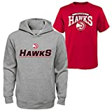 NBA Atlanta Hawks Boys 8-20 Tee & Hoodie Set, Large (14-16), Assorted Color