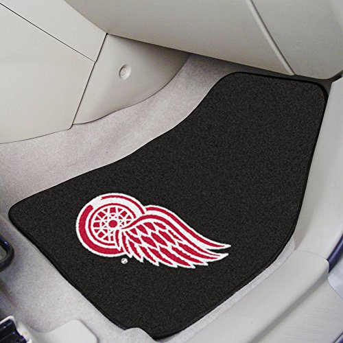 FANMATS NHL Detroit Red Wings Nylon Face Carpet Car Mat