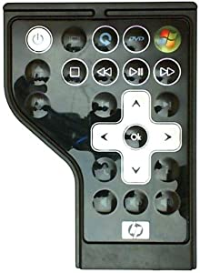 HP Mobile Remote Control II Plus (Black) for Pavilion DV Series Notebook PCs - Refurbished - HSTNN-PR07