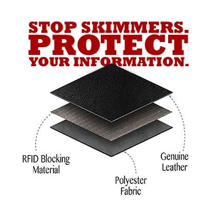 Lethnic Men's Minimalist RFID Front Pocket Slim Wallet - Business Card Holder Wallet - Safe Wallet For Travel - Best gift for Men - Genuine Leather (Dark Brown) Photo #2