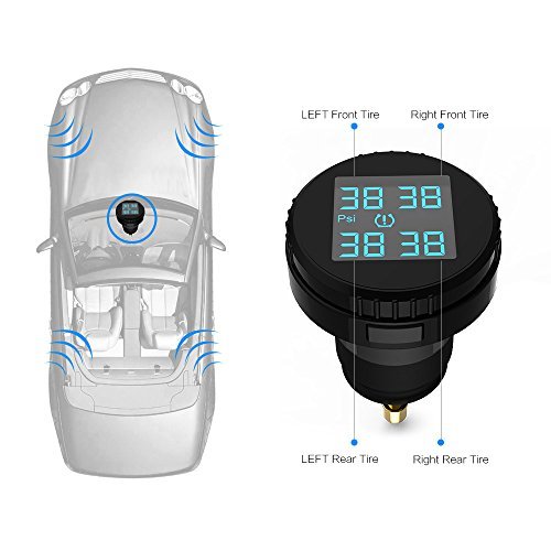 Carchet Tpms Tire Pressure Monitoring System With 4