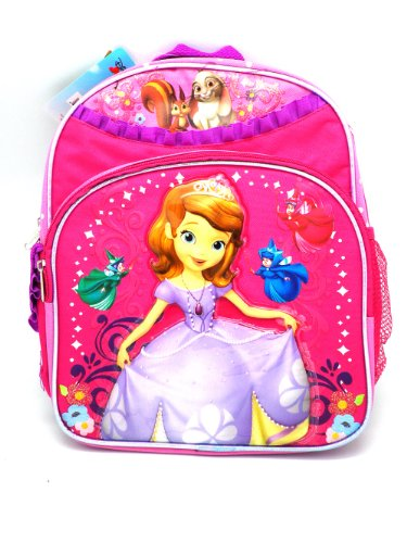 """Price comparison product image Sofia the First 12"""" Backpack - BRAND NEW"""