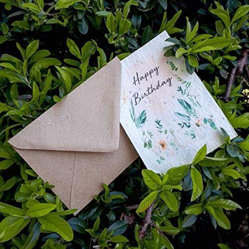 Loisirs Creatifs Idee Cadeau Carte A Planter Joyeux Anniversaire Melange De Graines Francaises 100 Ecologiques Et Biologiques Cultivea Fleurs Sauvages Cuisine Maison Hotelaomori Co Jp