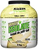 Whey Protein Isolate Vanillas Review and Comparison