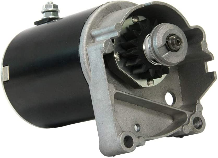 Starter Motor Replacement For Briggs V Twin 14HP 16HP 18HP 399928 393017 495100 498148 394674 394808 497596