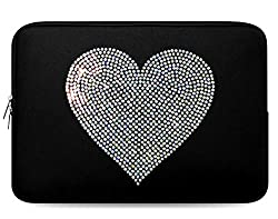 Crystal Bling Rhinestone Studded Laptop Case
