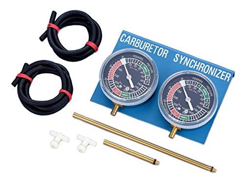 AlphaMoto Vacuum Carburetor Synchronizer Carb Sync Gauge 2 Cylinder Bike Cb Cl 350 Carb Synchronizer