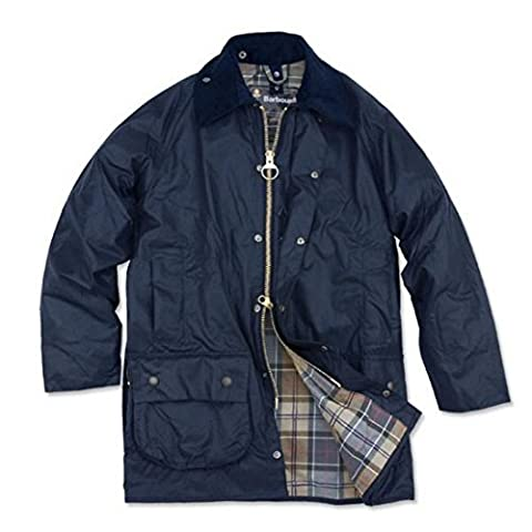 Barbour Men's Beaufort Waxed Cotton Jacket50 Navy - Beaufort Waxed Cotton Jacket