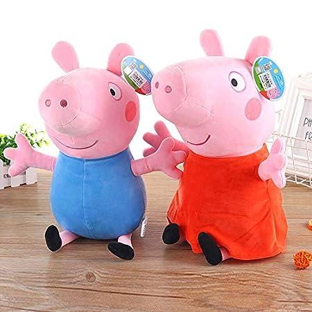 Amazon.com: Pig George Pepa Pig Family - Bolsa de peluche ...