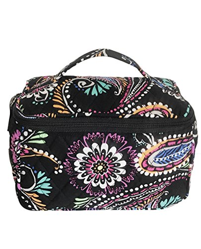 Vera Bradley Travel Cosmetic Bag in Bandana Swirl ()