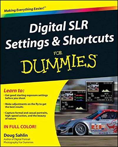 Digital SLR Settings and Shortcuts For Dummies (Taking Good Photos With A Digital Camera)