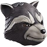 Rubie's Men's Guardians of the Galaxy Rocket Raccoon Costume, GOTG, Overhead Mask