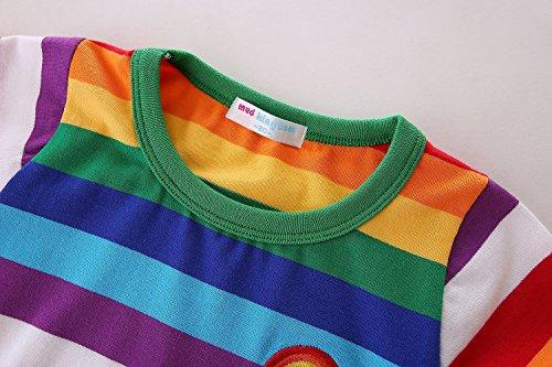 980c9631 Mud Kingdom Boys T-Shirts Rainbow Stripe - Buy Online in UAE ...