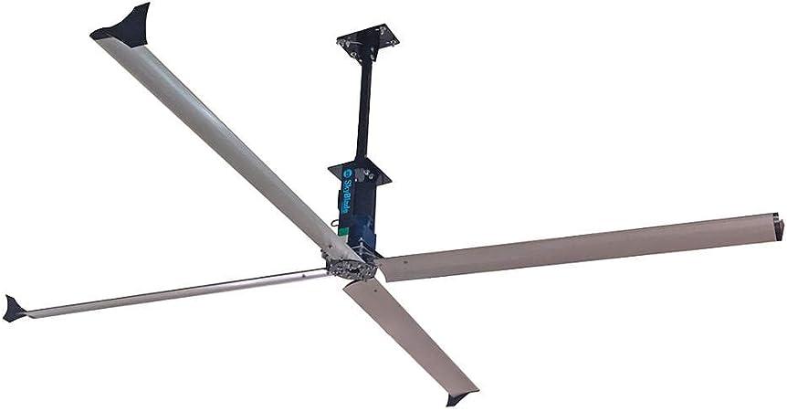 Ventilador de techo industrial SkyBlade Fans serie STEP de 16 pies ...