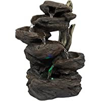 Best Choice Products 6-Tier Tabletop Waterfall Fountain