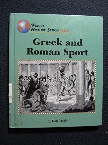 Greek and Roman Sport (World History (Lucent))