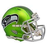 Seattle Seahawks Unsigned Green Blaze Speed Mini Helmet Stock #123699