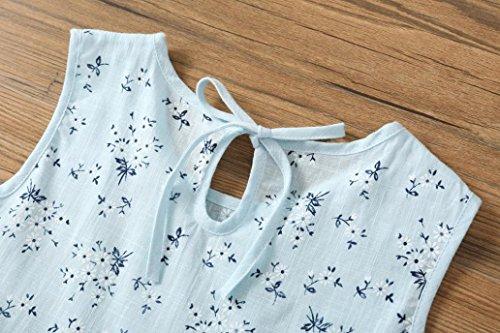 Transer Toddler Kids Baby Girls Dress Floral Print Sleeveless Princess Dress Outfits LB