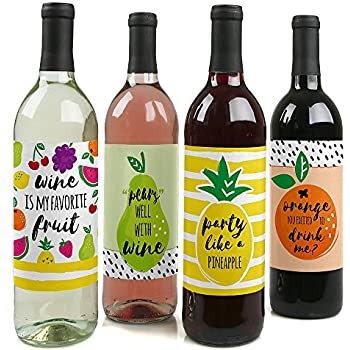 Amazon Com Let S Be Mermaids Baby Shower Or Birthday Party Wine