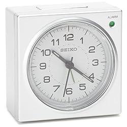 Seiko QHE086SLH Bedside Alarm Clock
