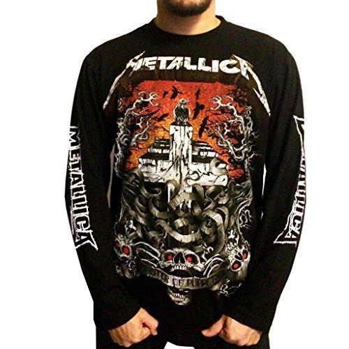 Men's Metallica T-Shirt Long Sleeve - S to 3XL