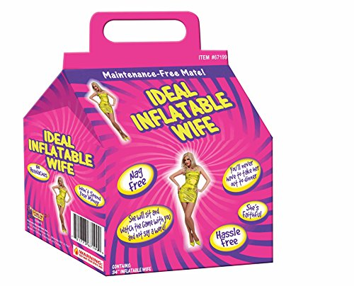 Forum Novelties Ideal Inflatable Spouse, 34-Inches,