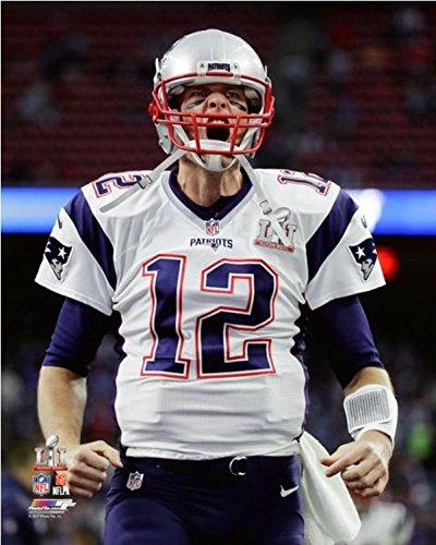Tom Brady New England Patriots Super Bowl LI Photo (Size: 8
