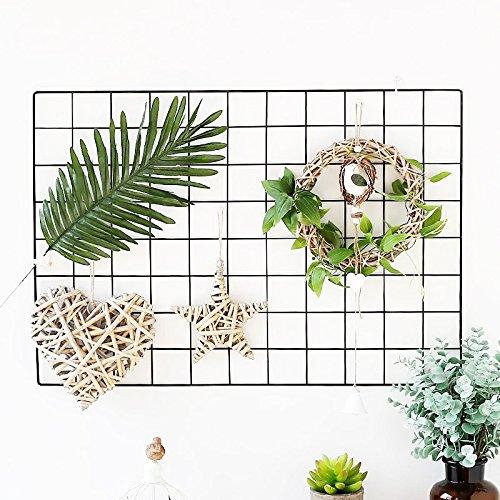 Zonyeo filo muro Grid mesh metal memo board area di lavoro ufficio organizzazione interior display pannello decorativo bacheca in sughero