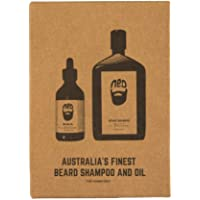 Ned Beard Shampoo & Outback Oil Mens Face Styling Gift Pack Kit