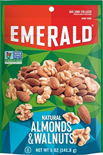 Emerald Natural Walnuts Almonds Ounce