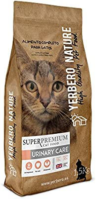 Yerbero NATURE - URINARY CARE pienso superpremium para gatos 1,5kg ...